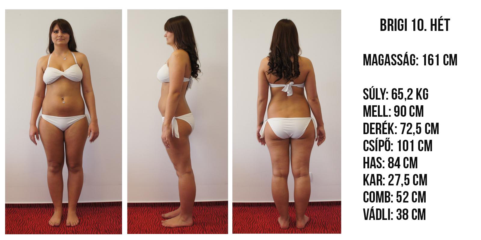 1 hónap hány kg fogyás
