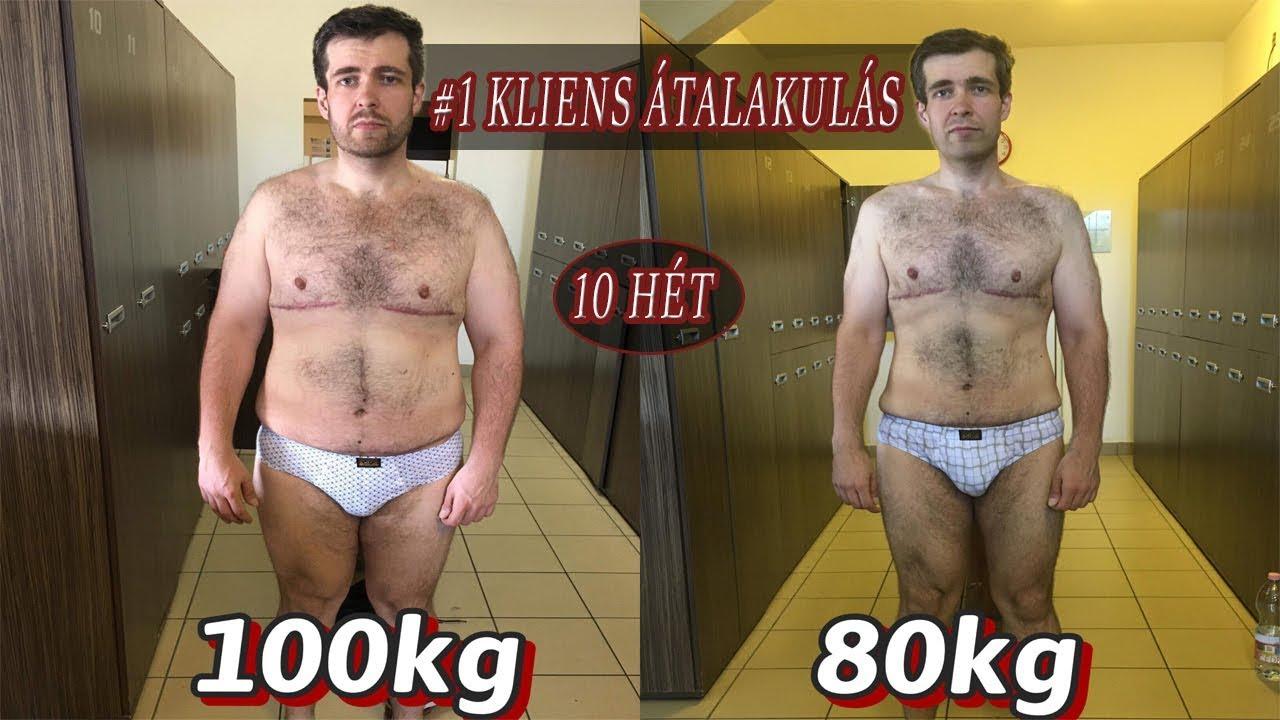 4 kg súlycsökkenés egy hét alatt