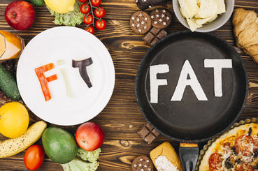 egészséges zsírtartalom a fogyáshoz