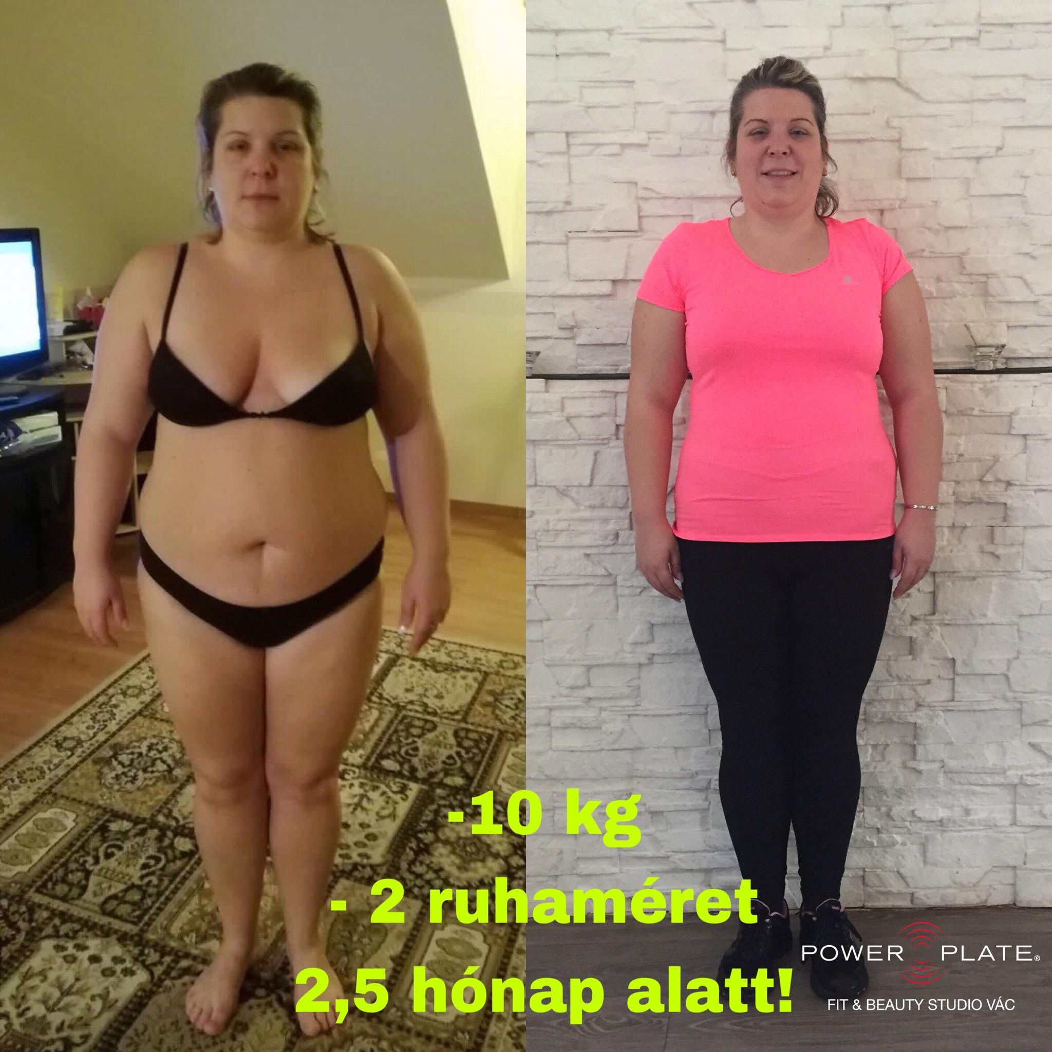 97 kiló volt szülés után, 9 hónap alatt 32 kilót dobott le a magyar anyuka | nlc