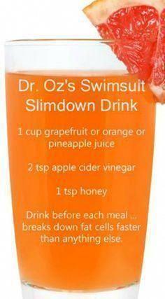 természetes italok a fogyáshoz