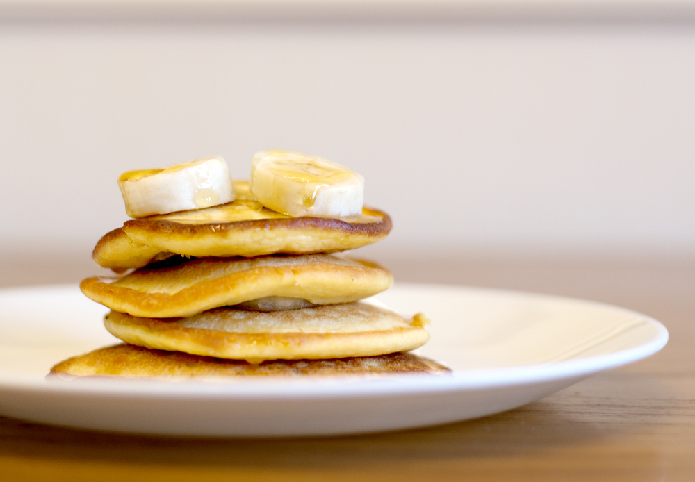 banános palacsinta diétás