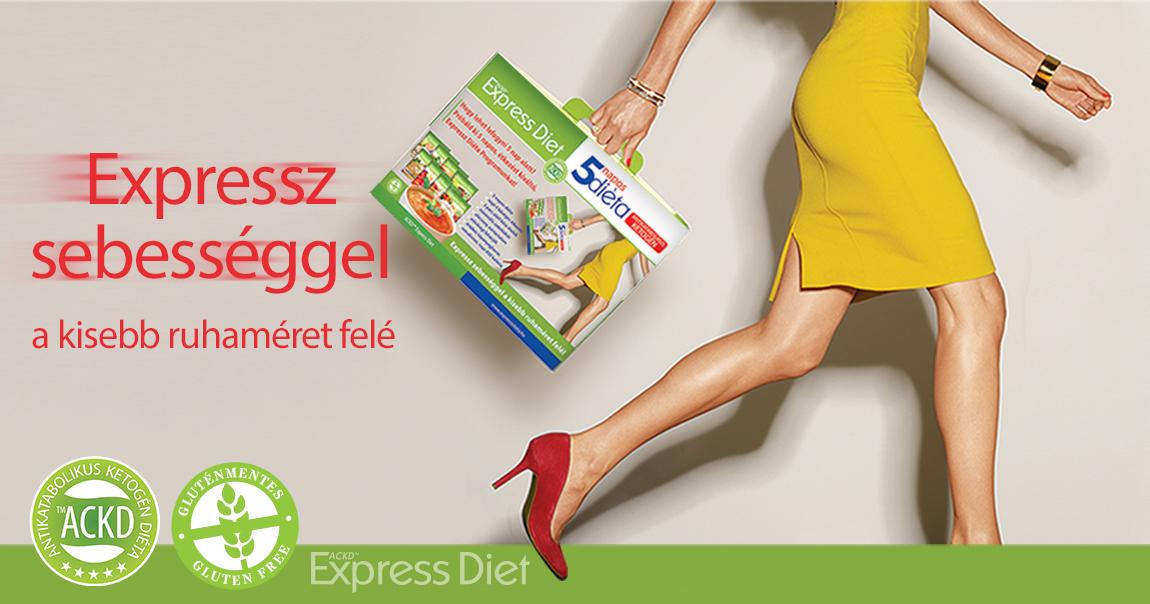 expressz diéta árgép zsírégető felülvizsgálat