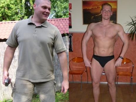 fogyás 36 éves férfi