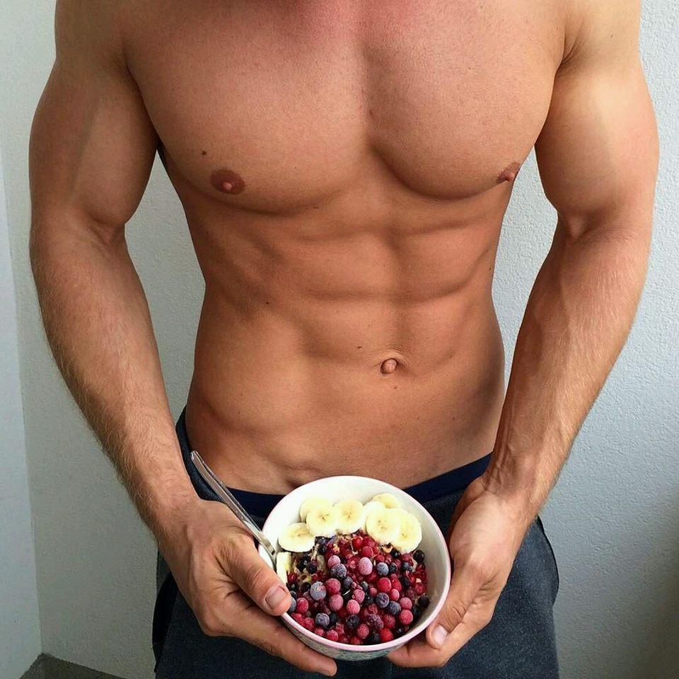 férfi modell zsírégetés