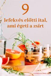 milyen természetes ital segít a fogyásban