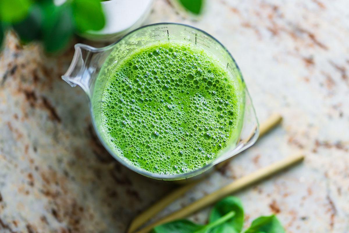 zöld smoothie fogyás