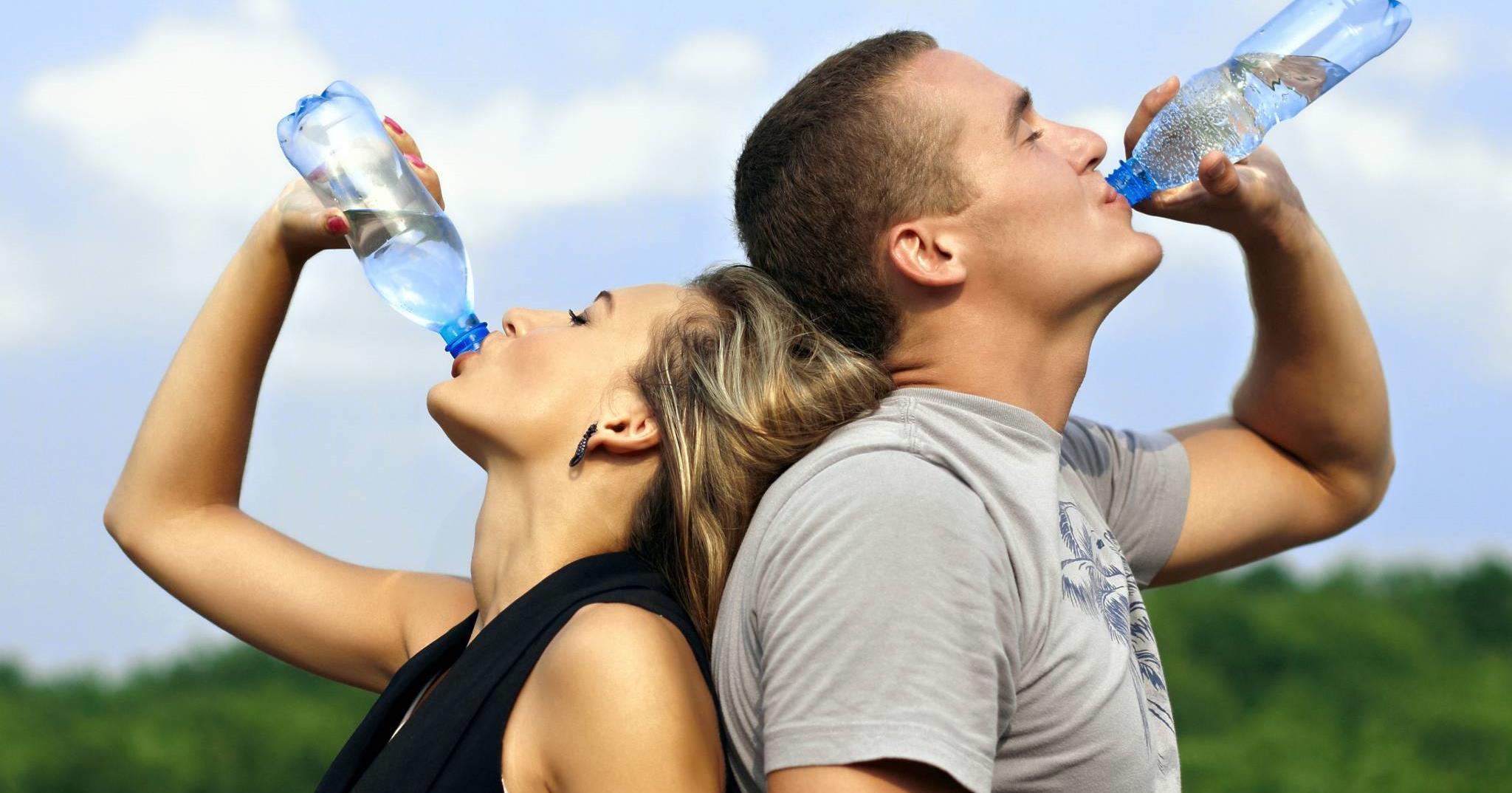 vízzel fogyni